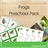 Frogs/Amphibians Preschool Pack