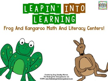 Frogs And Kangaroos  Leap Day Centers!