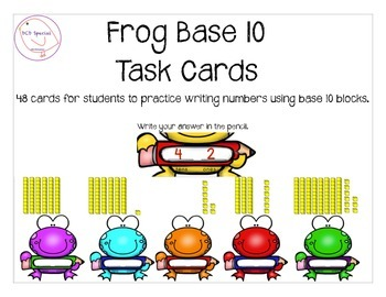 Frogs Base 10 recognition