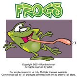 Frogs Cartoon Clipart