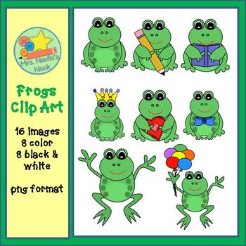 Frogs Clip Art