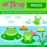 Frogs Clip Art (Digital Use Ok!)
