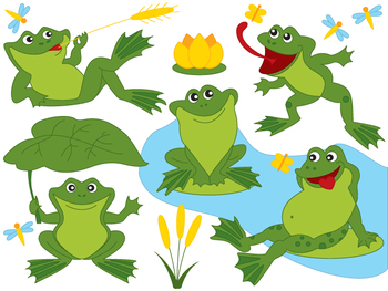 frogs clipart digital vector frog green frog pond dragonfly rh teacherspayteachers com frog clipart pinterest frog clipart black and white