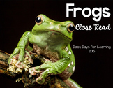 Frogs Close Read