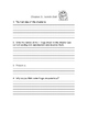 Frogs Close Reading Comprehension Packet