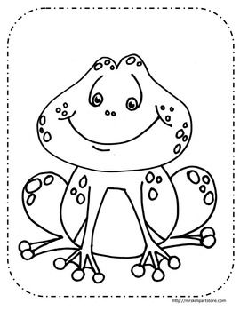 Frogs Coloring Pages