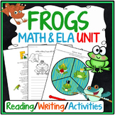Frogs Reading Comprehension & Math Activities