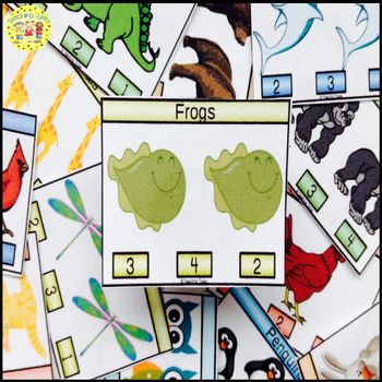 Frogs Task Cards