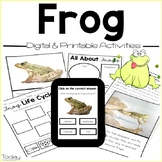 Frogs Digital and Printables Resource (Distance Learning)