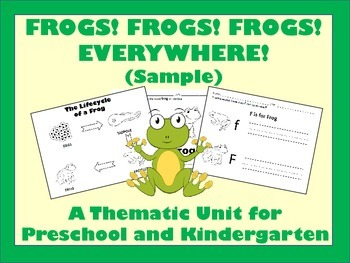Frogs Everywhere - Sample
