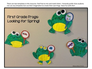 Frogs: Fiction & Nonfiction Differentiated Readers with Activities (K-2)