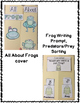 Frogs Flippy Flaps Interactive Notebook Lapbook