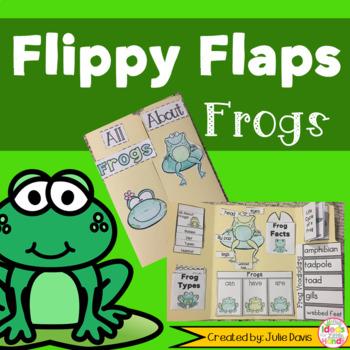 Frogs Activities Interactive Notebook Lapbook