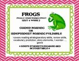 Frogs Foldable Scott Foresman Reading Street Grade 2
