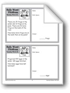 Frogs (Grade 2 Daily Word Problems-Week 26)