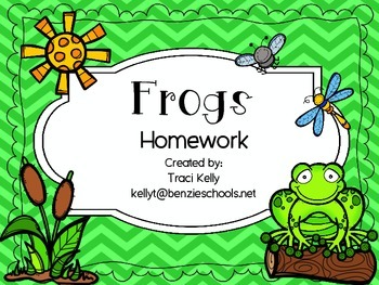 Frogs Homework - Scott Foresman 2nd Grade