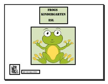 Frogs - Kindergarten, ESL