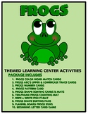 Frogs Kit One  - Themed Learning Center Activity Kit