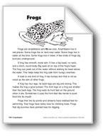 Frogs/Las ranas