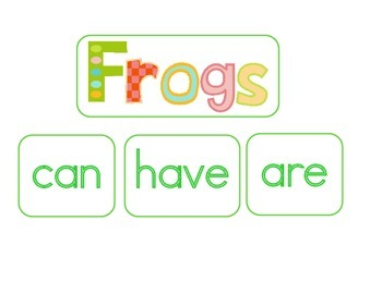 Frogs Life Cycle:  A Science and Literacy Mini Unit
