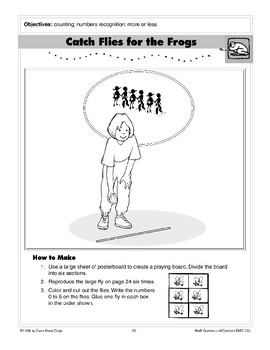 Frogs: Math Games