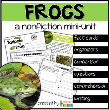 Frogs Nonfiction Reading