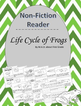 Frogs Nonfiction CLOSE Book