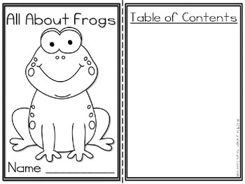 Frogs Research Project