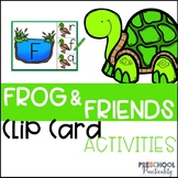 Frogs Pond Life Clip Card Activities for Toddlers, Prescho