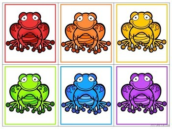 Frogs Pond Life Matching Activities for Toddlers, Preschool, and PreK