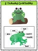 Frogs: Reading Comprehension, Writing and Craftivities