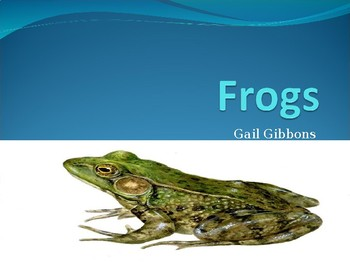 Frogs  Reading Powerpoint