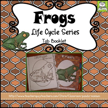 Frog Life Cycle Tab Booklet