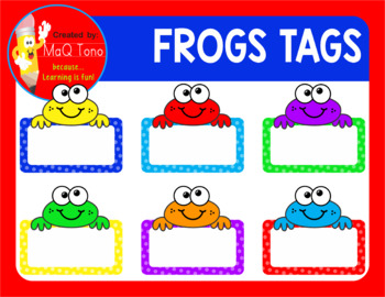 Frogs Tags