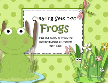 Frogs Numbers 0-20