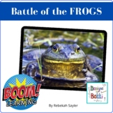 Frogs Worksheet: Battle of the Frogs