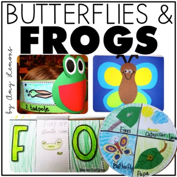 Frogs and Butterflies {Life Cycle Fun!}