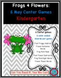 Frogs and Flowers Common Core Centers May Bundle: 6 ELA/Math Games