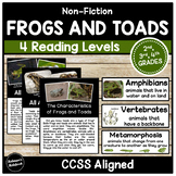 All About Frogs and Toads Non-fiction