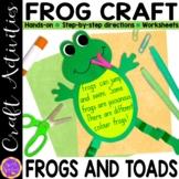 Frog Craft | Spring Crafts | Frog and Toad | Spring Frog B