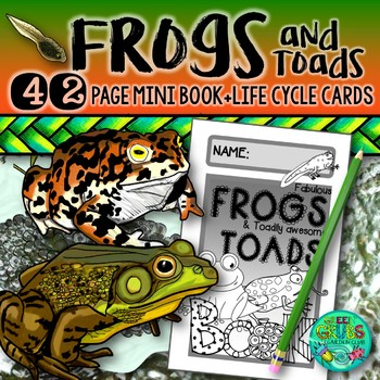 2eeec0b5064f9 Frogs and Toads {Fun & facts about Frogs & their life cycle} by ...