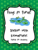 Frogs in Ponds! Division with Remainders Game, Singapore M