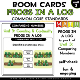Frogs in a Log for Boom Cards™
