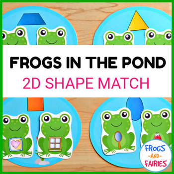 Frogs in the Pond 2D Shape Match