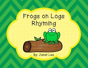 Frogs on Logs Rhyming