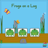 Frogs on a Log