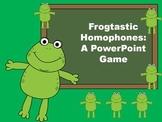 Frogtastic Homophones PowerPoint Game