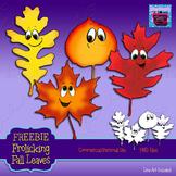 Freebie Fall Leaves Clipart