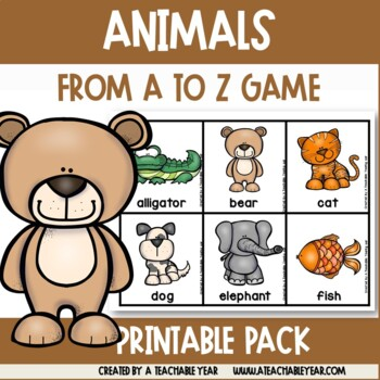 From A to Z - Animals