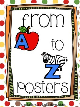 From A to Z Posters